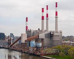 Big Allis Ravenswood Generating Station on the East River, Long Island City, New York City