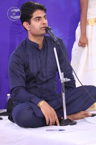 Stage Secretary, Sandeep Chaudhary