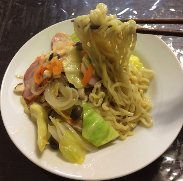 Chinese noodles without The Soupe