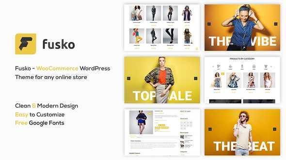 Fusko WordPress Theme free download