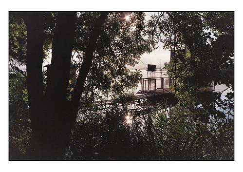 Estuaire de la Gironde, carrelet,  Via Turonensis