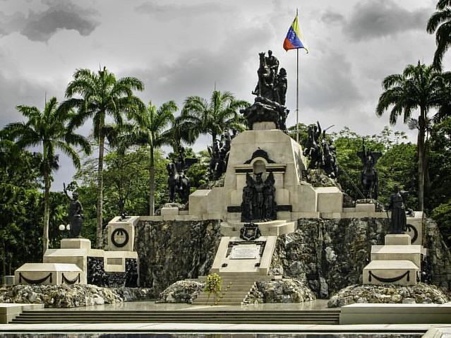 Â¡Libertad! Freedom!  Campo Carabobo. This is an Independence Heroes monument followed below by Venezuela National Anthem in support of current efforts of the glorious Venezuelan people to attain freedom.  English version: https://en.wikipedia.org/wiki/Glo