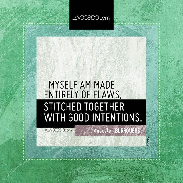 I am made entirely of flaws by WOCADO.com