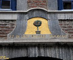 Maastricht house signs