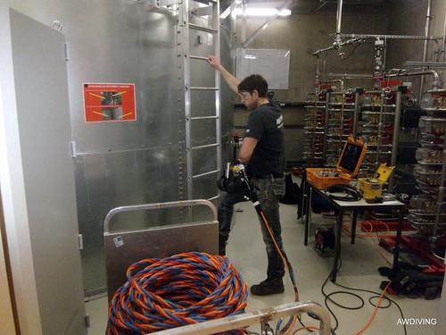 Sprinklertank inspectie