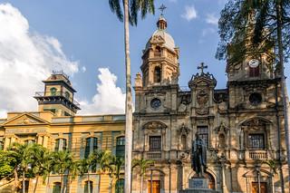 Parque de San Ignacio-Medellin/Colombia