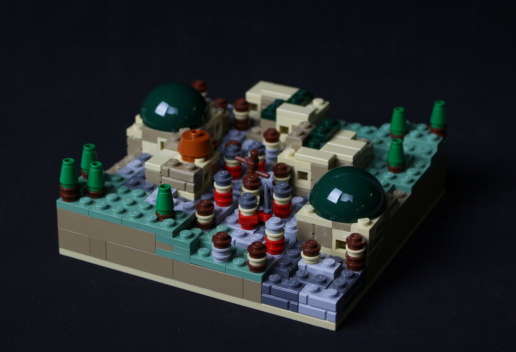 Via Dolorosa (custom built Lego model)