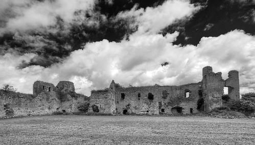 Clonmore Castle B&W