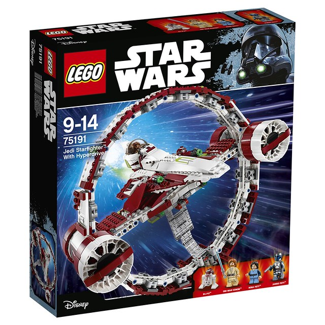 75191 Jedi Starfighter with Hyperdrive 1
