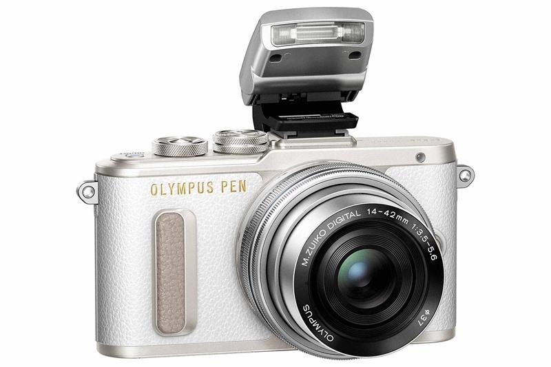 máy ảnh màn hình lật - Olympus E-PL8 – Máy ảnh màn hình lật tuyệt đẹp cho dân selfie