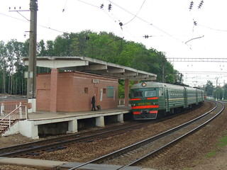 RZD Mark station in 2006, Moscow