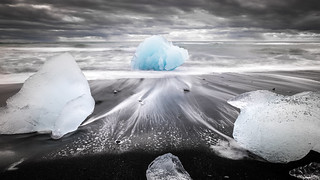 Jokulsarlon ice beach - Iceland - Travel photography