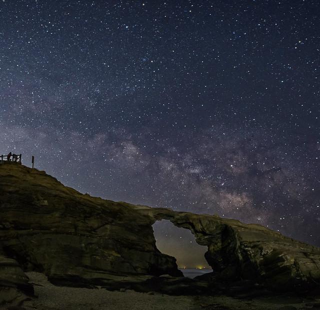馬の背にかかる星の橋, Nikon D4S, AF-S Zoom-Nikkor 14-24mm f/2.8G ED