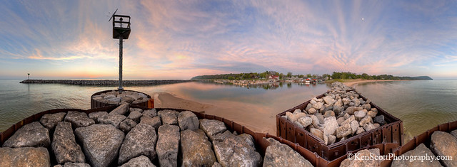 Fishtown ... 360º of sunset