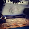 Space Invader: day #spaceinvader #serranegra #piscina #pool #tiles