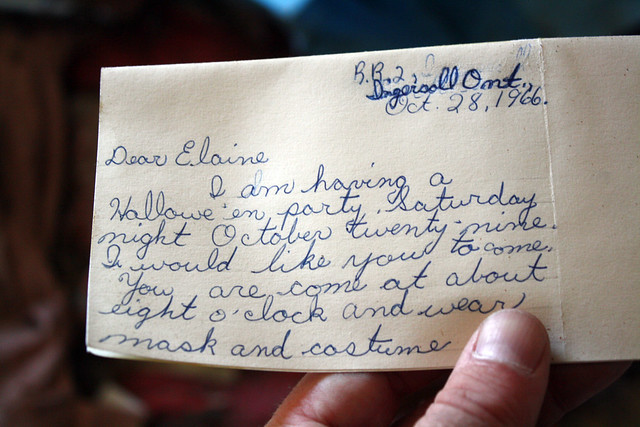Oct. 28, 1966 - Dear Elaine