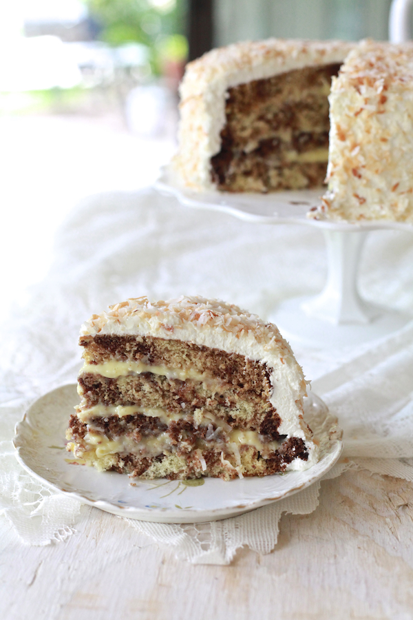 Chocolate Coconut Cream Cake 50