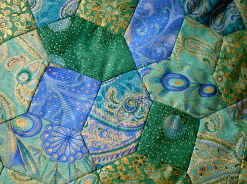 Paper Pieced Patchwork Detail