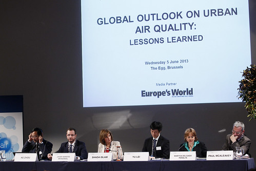 Global outlook on urban air quality : lessons learned