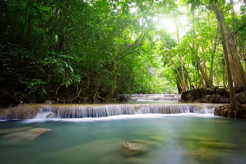 Erawan Waterfall (Erawan National Park, Kanchanaburi, Thailand)
