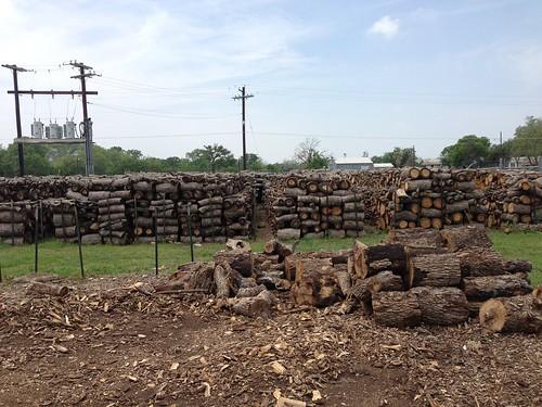 Woodpile at Kreuz Market