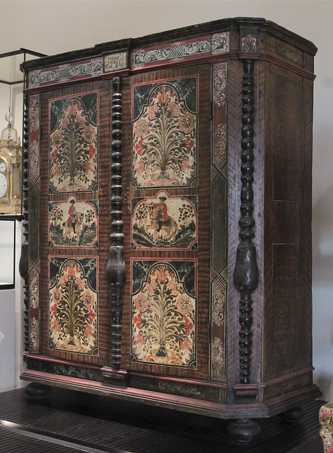 Cupboard, dated 1776, upper Austria