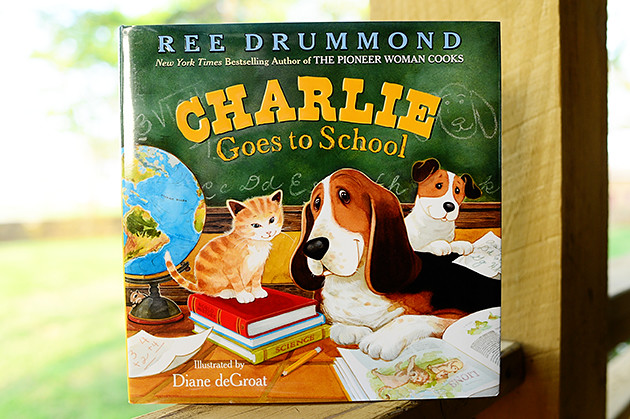 Charlie Goes to School!