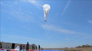 谷歌新计划:放个热气球来上网