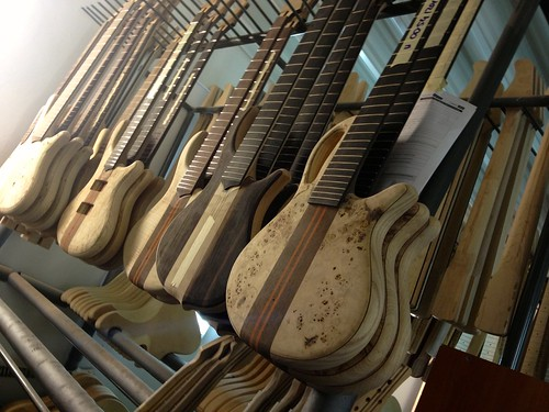 Near complete bodies and necks for Mayones basses