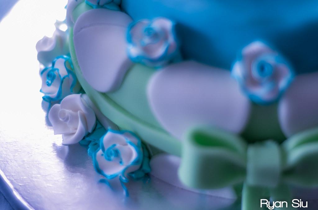 Tiffany's Baby Shower Cake Thumbnail