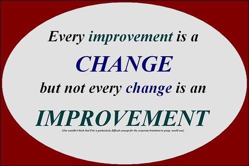 Change & Improvement Explained