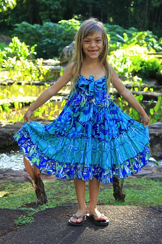 Childrens Dress from Rainbow Jo. Photo by Tim O'Connor.