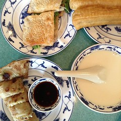 Taiwanese breakfast with Albert at House of Sun!