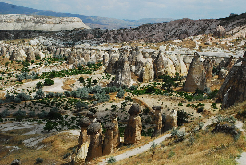 Fairy chimneys in their glory