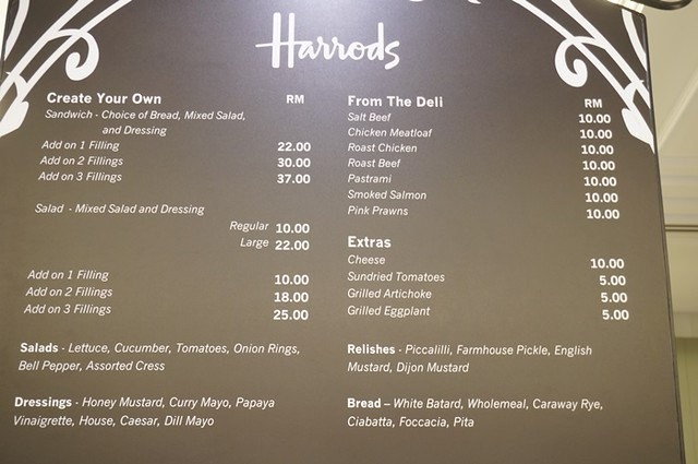 harrods cafe KLCC - tea, scones, sandwiches, cakes 1 (1)