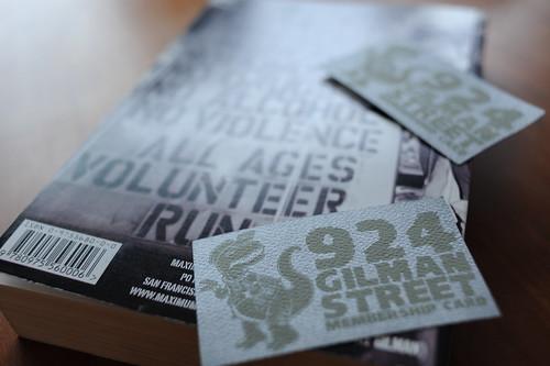 924 Gilman member!