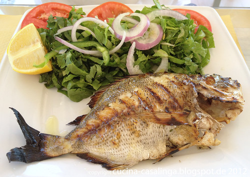 Restaurant Faros - Black Snapper