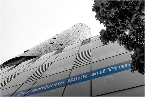 Der schönste Blick auf Frankfurt by AngieD.