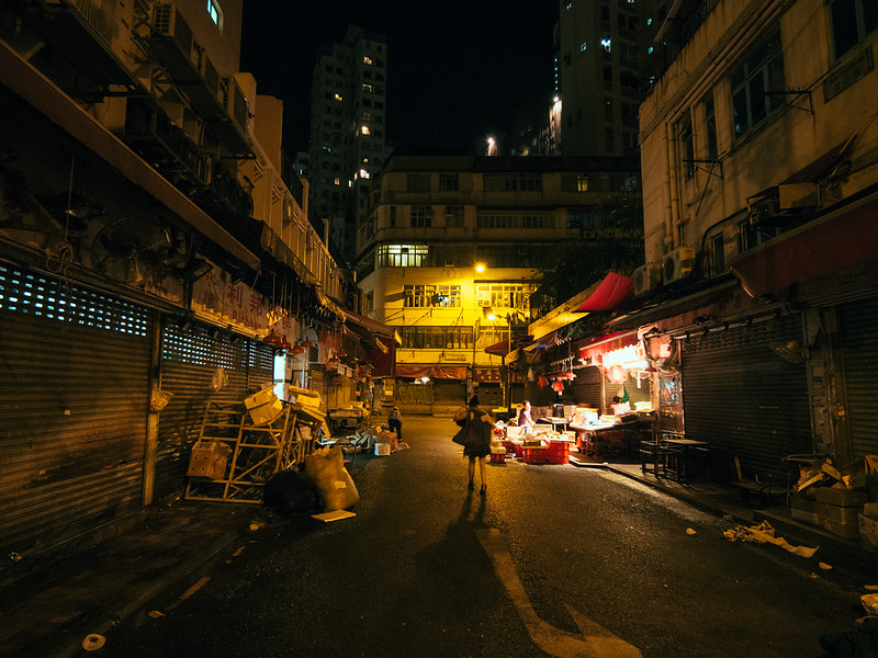 夜街市。Night Market