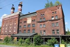 Derelict factory complex , Ciechanowice village 05.08.2013