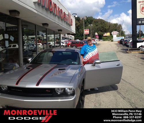 Thank you to Curtis Patton on the 2013 new car  from Lara Paradise and everyone at Monroeville Dodge! by Monroeville Dodge