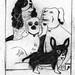 Porcelaine dogs by martha verschaffel