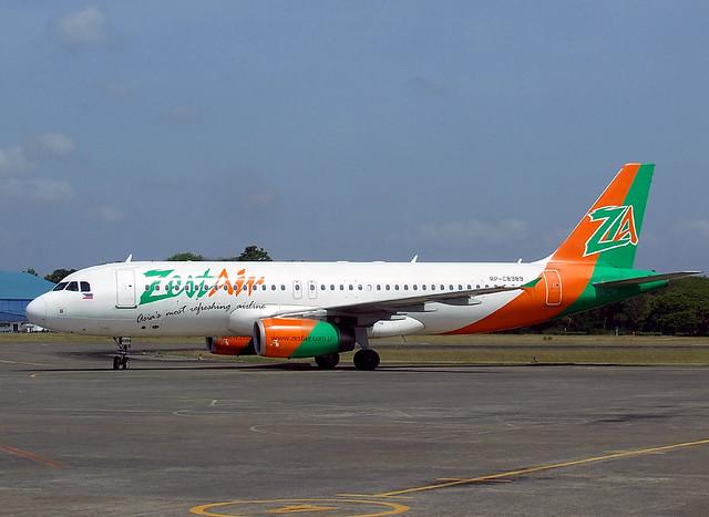 Zest Air - Airbus A320-232 - RP-C8989