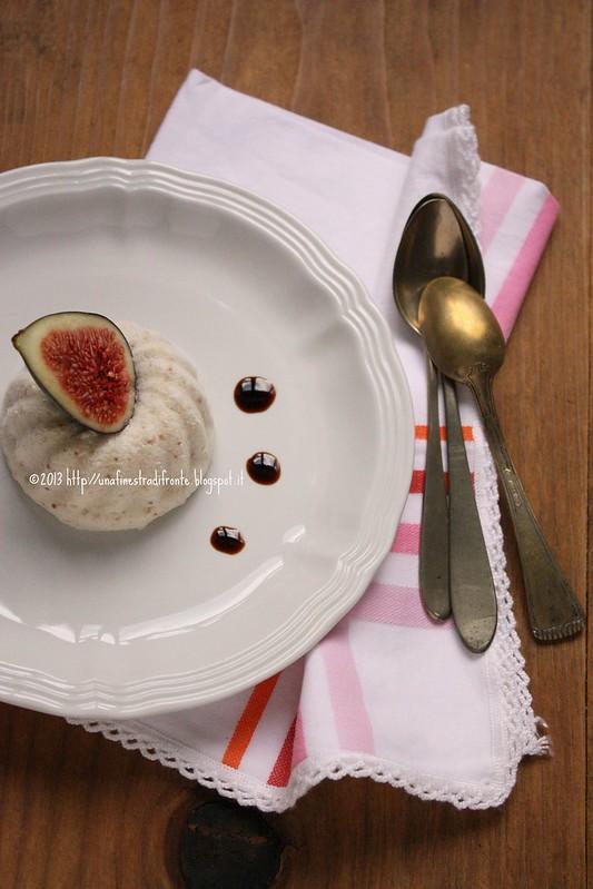 Semifreddo di fichi con vino cotto al balsamico