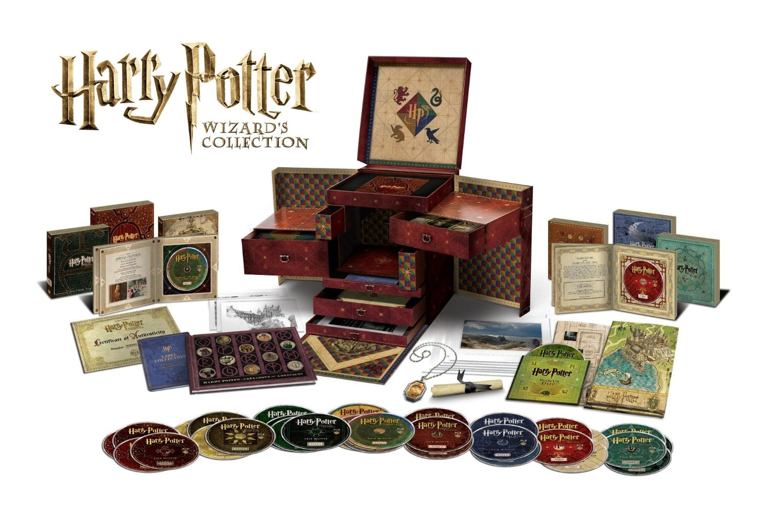 Yesasia: harry potter complete 8-film collection (dvd) (16-disc.