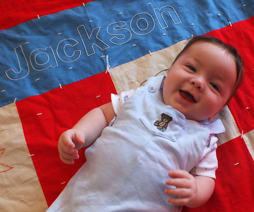 Jackson and his Quilt