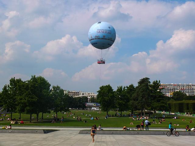 Parc André Citroen. Ballon GENERALI de Paris