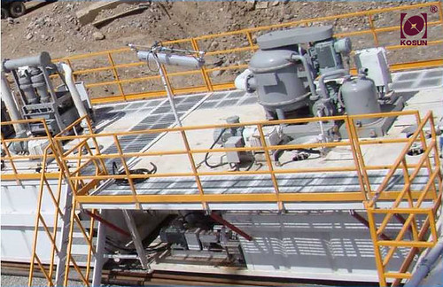 well drilling-Kosun solids control equipment-gurantte safety works at welling drilling field