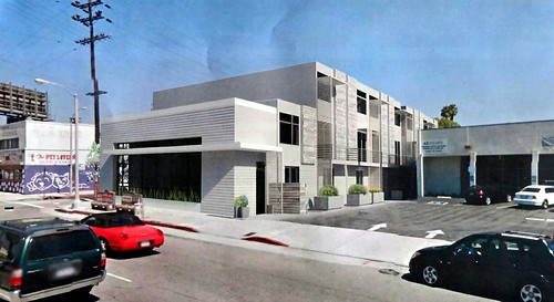 """Canned Sardines"" Housing Development @ 3376 Glendale Blvd by Luis Lopez"