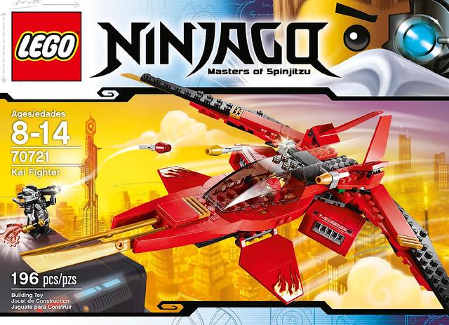 LEGO Ninjago 2014 - 70721 Kai Fighter